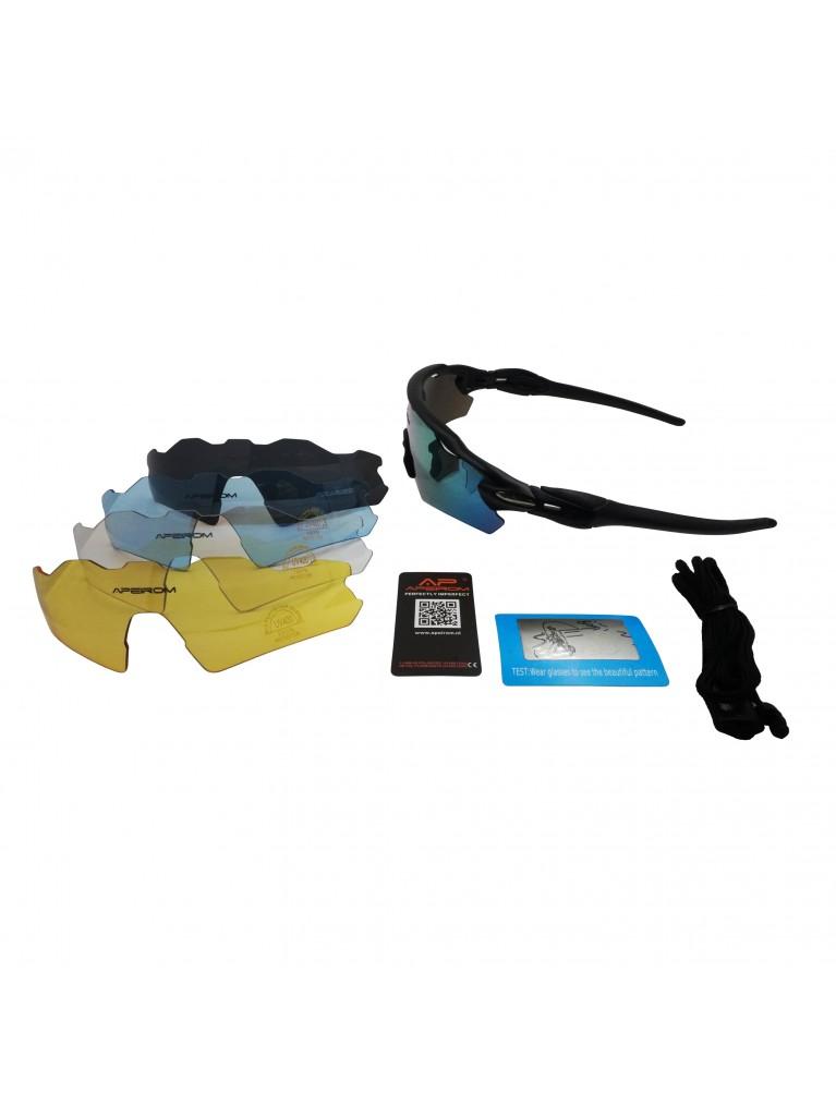 Titan Sportbril 1.1 mm polariserend